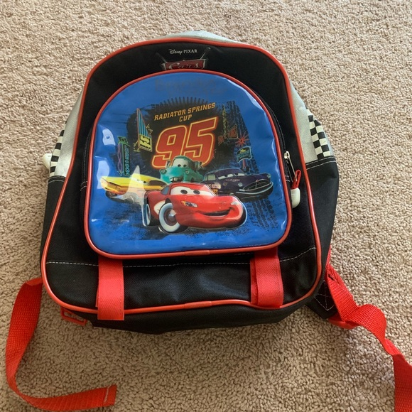 Disney cars small backpack